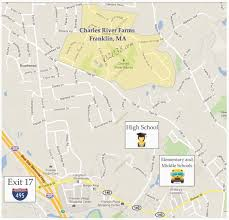 Ma Map Charles River Farms An Appealing Neighborhood In Franklin Ma