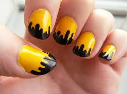 10 yellow nail art ideas indian beauty tips