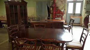 mahogany dining room set delong s furniture pre owned dining room furniture