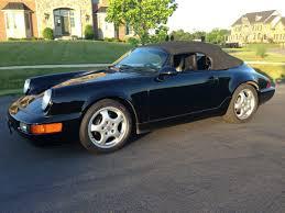 Porsche 911 Hardtop Convertible - rare 1994 porsche 911 speedster will cost you six figures