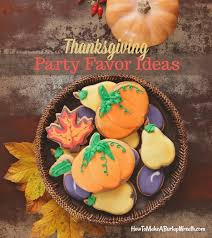 creative favors for your thanksgiving entertaining