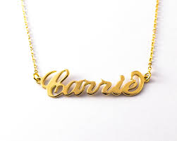 gold custom name necklace gold name necklace large katy styles name necklace
