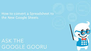 Html5 Spreadsheet How To Convert A Spreadsheet To The New Google Sheets