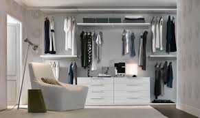 bedroom white closet organizer lowes with cozy chair and grey