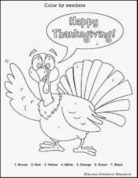 Thanksgiving Color By Number Best Turkey Printable Coloring Pages For Kids Boys And Girls