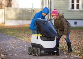 skype headquarters grocery delivering robots launched by skype co founders