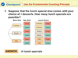 the fundamental counting principle and permutations 18 0 students