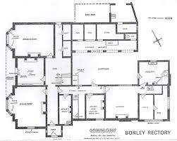 rectory ground floor plan