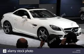 mercedes factory the new mercedes slk sports car is revealed at the mercedes