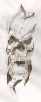 tearing skull by benzino187 on deviantart skin tear flash