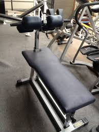 techno gym adjustable ab cruncher bench