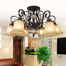 6 light glass shade crystal ceiling light twig type rustic 6 light glass shade crystal ceiling light twig type
