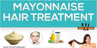 Is Mayonnaise Good For Hair Growth 5 Home Remedies For Dry Hair Food In 5 Minutes