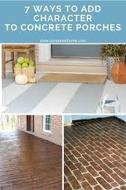 Laminate Flooring On Concrete Slab Best 25 Painting Concrete Porch Ideas On Pinterest Colored