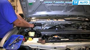 how to install replace wiper motor 2001 04 nissan frontier youtube