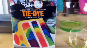 how to bake a tie dye cake rainbow color homemade premium cake