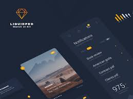 liquidpro sketch ui kit freebie download sketch resource