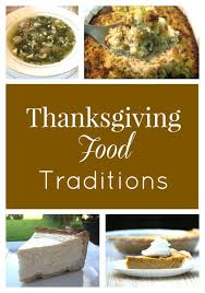 traditions what s one traditional food served at your