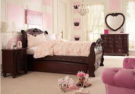 Shop For A Disney Princess Cherry  Pc Twin Sleigh Bedroom At - Rooms to go kids bedroom