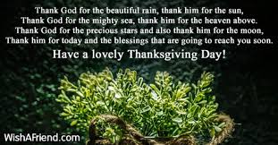 thank god thanksgiving poem