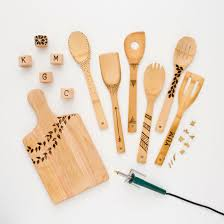Cutting Board Designer Personalize A Cutting Board And Wooden Spoons With A Wood Burning
