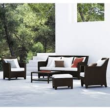 Barcelona Outdoor Furniture by Dedon Barcelona Lounge Chair