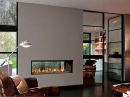 Converting A Wood Fireplace To Gas by Best 25 3 Sided Fireplace Ideas On Pinterest Modern Fireplace