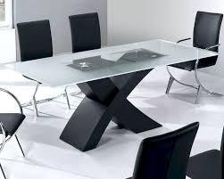 glass top modern dining table moderno european design 33d192