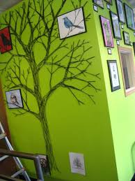 how to make a string tree wall mural apartment therapy