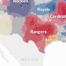 a map of a map of baseball nation the york times