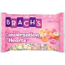 s candy hearts brach s tiny conversation hearts 19 oz walmart