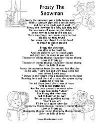printable lyrics frosty the snowman lyrics frosty the snowman free printable