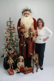 817 best santa claus images on primitive santa santa
