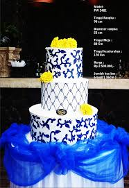 wedding cake surabaya harga wedding cake 3 tiers by pelangi cake bridestory