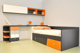 Desk With Bed Dainty Desk Along With Dorena Twin Low Loft Bed Together With
