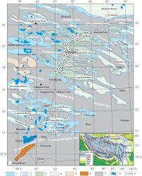 Tibetan Plateau Map Vast Early Miocene Lakes Of The Central Tibetan Plateau Gsa Bulletin
