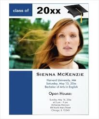 graduation open house invitation 41 graduation invitation designs free premium templates