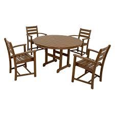 trex outdoor furniture monterey tree house 5 piece patio