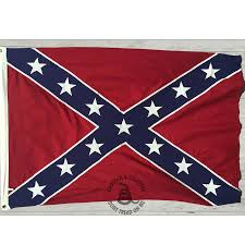 Confederate Flag Rear Window Decal Confederate States Of America Flags Gadsden And Culpeper