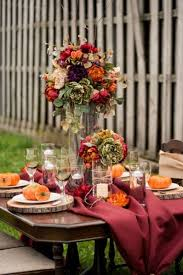 Fall Table Decorations For Wedding Receptions - 25 beautiful fall wedding table decoration ideas 2053665 weddbook