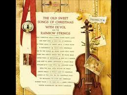 frank de vol u0026 the rainbow strings the christmas song twelve