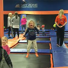 sky zone birthday party in fenton mo seeing dandy