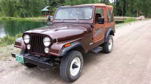 old jeep wrangler 1980 1983 jeep cj7 quick tour and test drive youtube