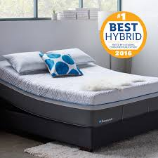 sealy posturepedic premiere hybrid copper plush mattress in home