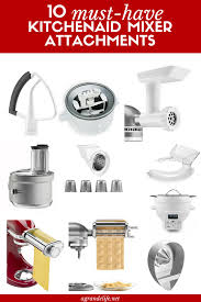 Kitchenaid Mixer Attachments Amazon by 10 Must Have Kitchenaid Mixer Attachments A Grande Life
