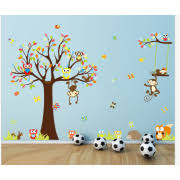 Nursery Monkey Wall Decals Monkey Wall Decals