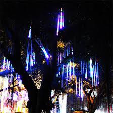 multi colored led christmas lights zinuo multi color 30cm meteor shower rain tubes ac100 240v led