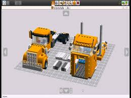 kenworth truck tractor lego custom kenworth truck build guide youtube