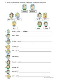 Esl Homonyms Worksheet 96 Free Esl Family Tree Worksheets