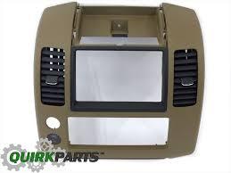 nissan altima 2005 dash parts 2005 nissan pathfinder center dash instrument panel cluster lid